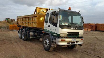 Bin Hire Truck in Point Cook
